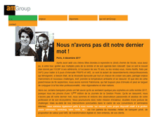 Tablet Preview of amgroup.fr